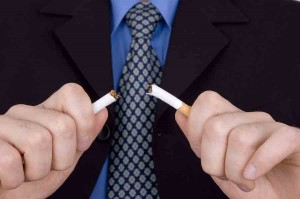 "Stopping smoking ""reduces anxiety"" study shows"