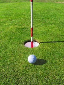 Hypnotherapy can give you the advantage in golf
